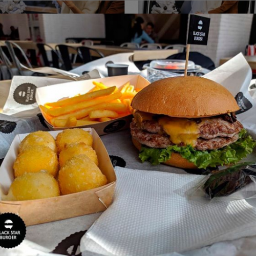 Фото Black Star Burger Алматы.
