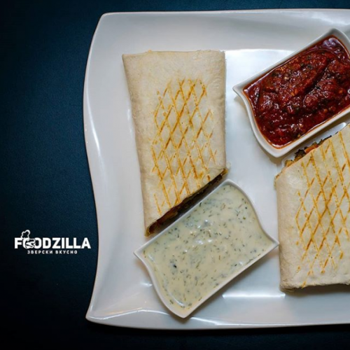 Фото Foodzilla Doner & Pizza Алматы.